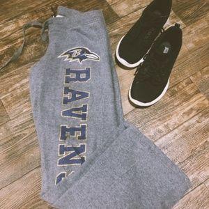 NFL Team Apparel Ravens Sweatpants